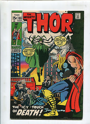 Thor #189 (6.5) The Icy Touch Of Death! 1971