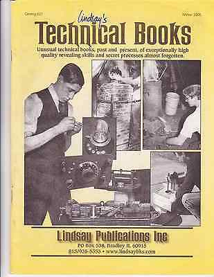 Lindsay's Technical Books, Catalog 627, Winter 2005 - ORIGINAL