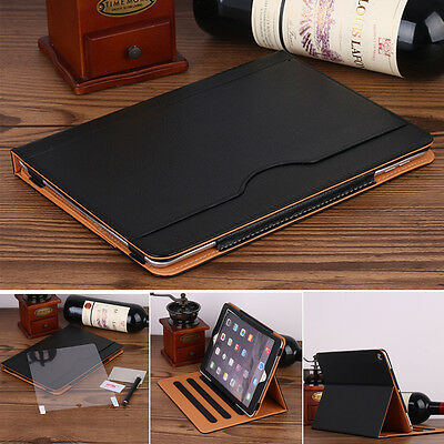 """Apple iPad Pro 9.7"""" Sleep Wake Leather Case Stand Card Wallet Flip Smart Cover"""