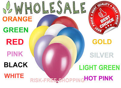 WHOLESALE Job Lot Colour Balloons Latex LARGE Quality Bulk Price Party Baloons