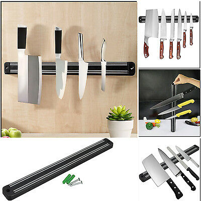 Strong Magnetic Knife Utensil Holder Strips Wall Mounted Kitchen Rack 5 Sizes