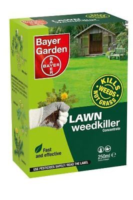 Bayer Garden Lawn Weed Killer Concentrate 250ml