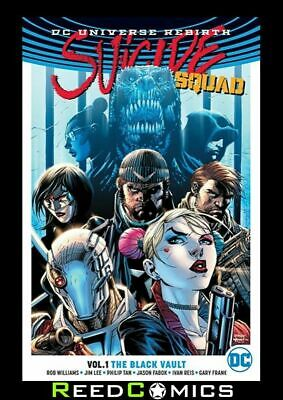 SUICIDE SQUAD VOLUME 1 THE BLACK VAULT GRAPHIC NOVEL Collects (2016) #1-4