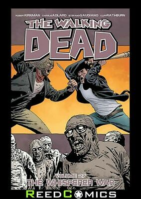 WALKING DEAD VOLUME 27 THE WHISPERER WAR GRAPHIC NOVEL Collects #157-162