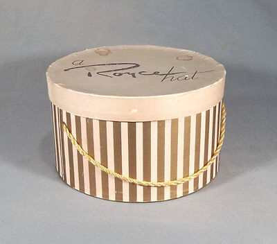 Vintage Royce Mid-Century Modern Decorative Ladies Hat Box