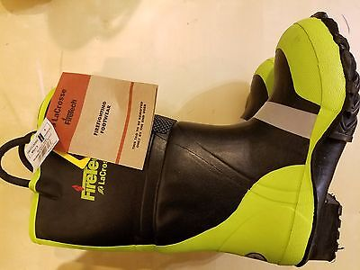 LaCrosse Rubber Fire Boots NFPA 1971 Size 15 N
