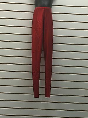 Curtian Call Costumes, Red Dance Pants, Size Childs Medium