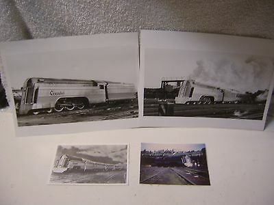 Lot Of 3 READING CRUSADER 4-6-2 Pictures & 1 Postcard
