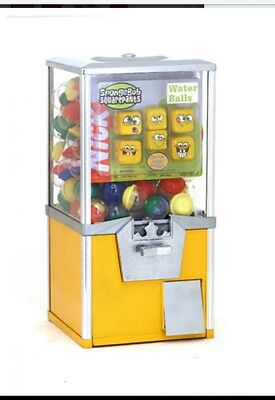 "W- NEW Rhino Commercial Yellow 20"" $.50 2"" Toy Capsule Gumball Vending Machine"