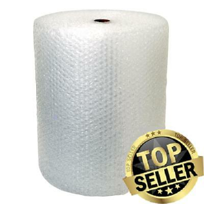 """Bubble + Wrap 1/2"""" 500 ft. x 12"""" Large Padding Perforated shipping moving roll"""