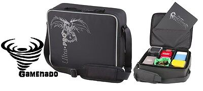 Ultra Pro Deluxe Gaming bag carry Case - Black Dragon