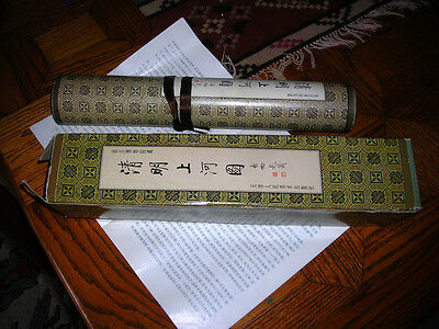 Close Out Sale! Amazing 60 Foot Long Chinese Scroll With Calligraphy