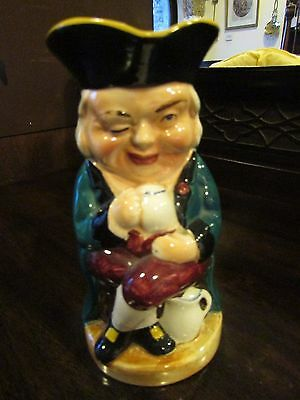 Burlington Ware Pottery Toby Jug The Winker c.1950s
