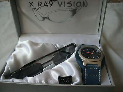 ~   The  Men's   Perfect Gift  ~   X  Ray  Vision    ~  Watch  &  Sunglasses