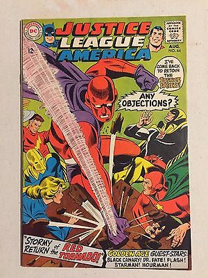 Justice League Of America  64 Vf 8.0 1St Red Tornado