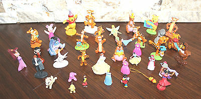 PVC & Plastic Toy Cake Topper Lot of 36, Disney included.