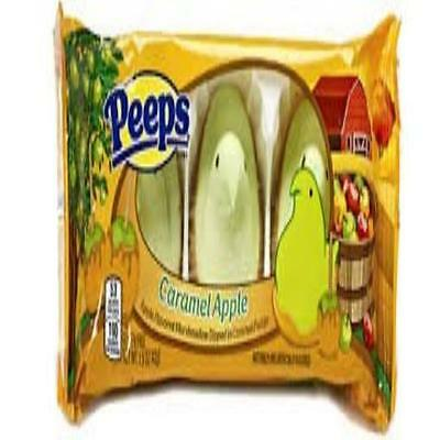 Peeps Caramel Apple Apple Flavored Marshmallows Dipped In Caramel Fudge One Pack