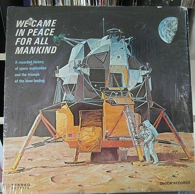 We Came In Peace For All Mankind - Ex / Ex+ Vinyl Lp - 1St Pressing /  Rare