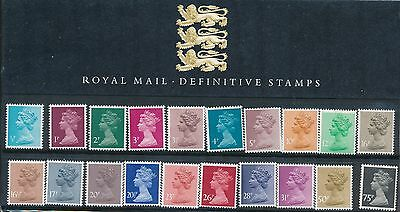 1983 Great Britain Royal Mail Definitive Presentation Pack #1