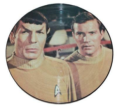 "STAR TREK -  TELEVISION SOUNDTRACK - Limited edition 12"" picture disc"