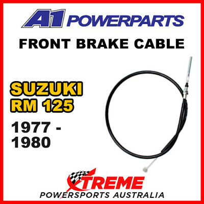 A1 Powersports Suzuki RM125 RM 125 1977-1980 Front Brake Cable 52-077-30