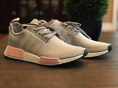 ADIDAS NMD R1 W Grey Vapour Pink Light Onix Women's BY3058 OFFSPRING