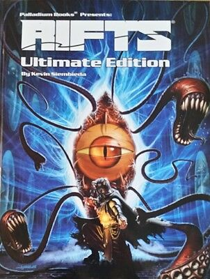 Rifts Ultimate Edition by Kevin Siembieda, Palladium Books (Hardcover)