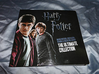 "HARRY POTTER "" the ultimate collection "" including 3 wands !!! & BONUS SET !!!"