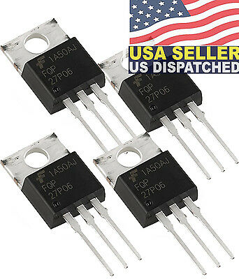 Fairchild/ON Semiconductor FQP27P06 MOSFET P-CH 60V 27A TO-220
