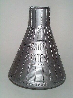 1961 Nasa Project Mercury Space Capsule Alan Shepard Flight Souvenir Bank Mint