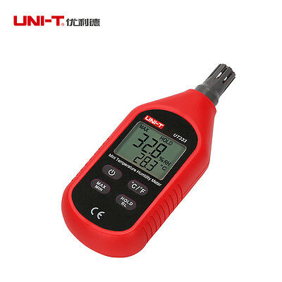 UNI-T UT333 LCD Digital Temperature Humidity Tester Meter Thermometer Tool New