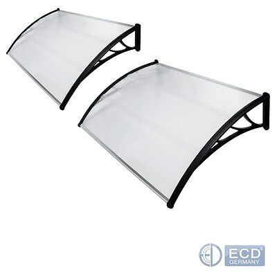 Panel Canopy Door Protection Polycarbonate Awning 100/120/150/240/300/360/450 Cm