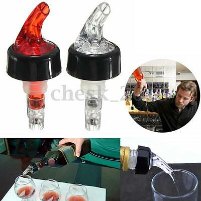 30/35/50ml Shot Spirit Measure Measuring Flow Pourer Bar Wine Cocktail Dispenser