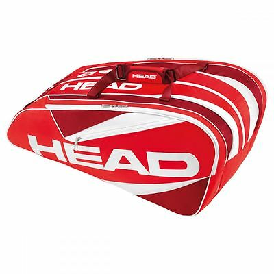 Head Elite 12R Monstercombi Tennistasche rot NEU UVP 59,95€