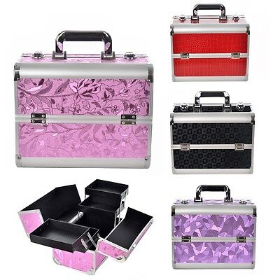 Beauty Case Make Up Nail Art Valigia Cofanetto Porta Trucco Valigetta Bellezza