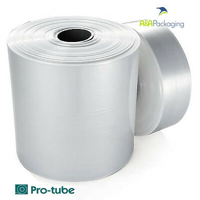 Layflat Tubing Polythene High Quality Clear Tube Sheeting Rolls FREE P/P