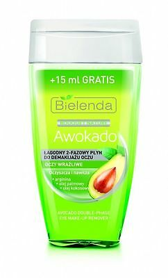 Bielenda Bouquet Nature Avocado WaterProof Make Up Remover Sensitive Eyes 130ml