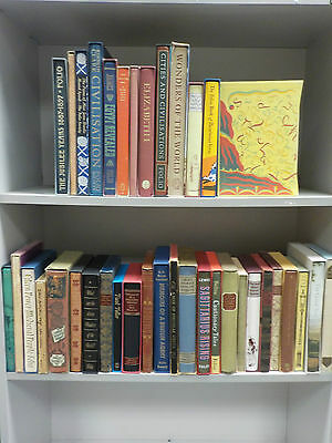 Folio Society Books (All Different Titles) - 38 Books Collection! (ID:44602)