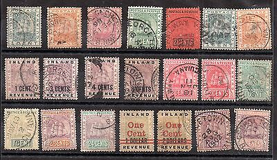 British Guiana Ships collection x 21 values WS3608