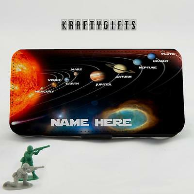Personalised Solar System Planets Boys iPhone Cover Flip Phone Case Gift SH240