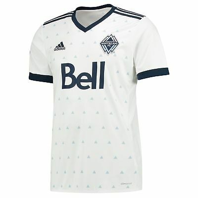 adidas Mens Gents Football Vancouver Whitecaps Home Shirt Jersey Top 2017-18