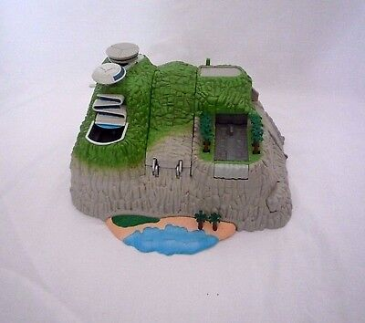 Thunderbirds Dx Tracey Island Interactive Playset With Sounds Bandai 2004