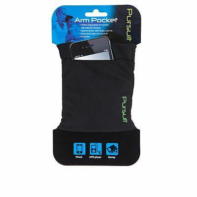Pursuit Running Cycling Arm Pocket Wallet Phone IPod Money Expandable
