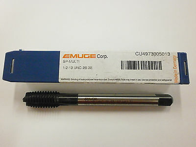 EMUGE 1/2-13 Spiral Point MULTI-TAP 2B/3B High Performance Germany CU4973005013