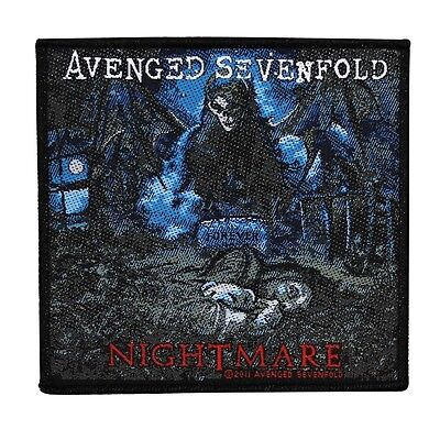 "Avenged Sevenfold ""Nightmare"" Album Art Sew-On Patch Metal Music Jacket Applique"