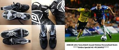 John Terry Player Issue Chelsea Personalised Boots - PR Sample (10210)