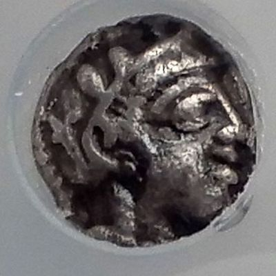 ATHENS Attica Greece 454BC Silver Obol Ancient Greek Coin Owl Athena NGC i59901
