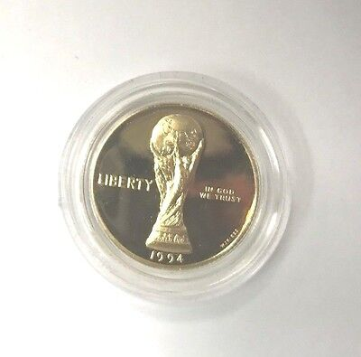 1994 Proof $5.00 Gold World Cup Coin