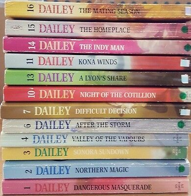 Lot Of 12 Janet Dailey Vintage Harlequin Romance Books Americana