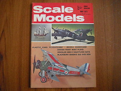 Scale Models Magazine - May 1971